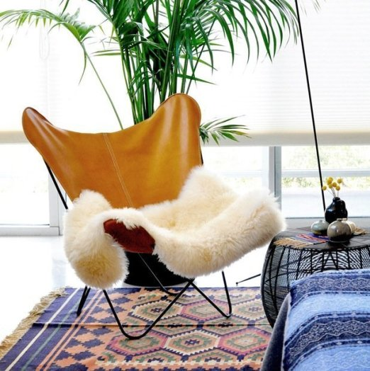 knoll hardou butterfly chair