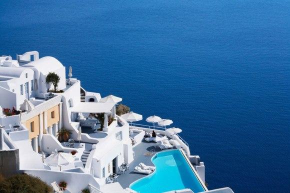 Hotel Katikies, Santorini / photobucket