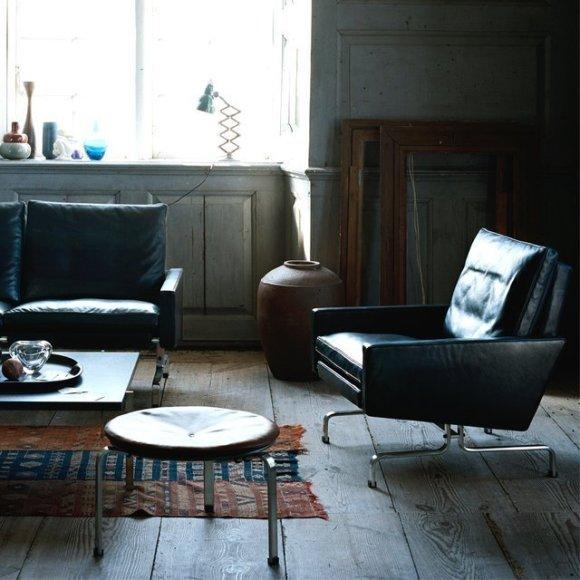 poulkjaerholm : fritzhansen PK31 lounge chair
