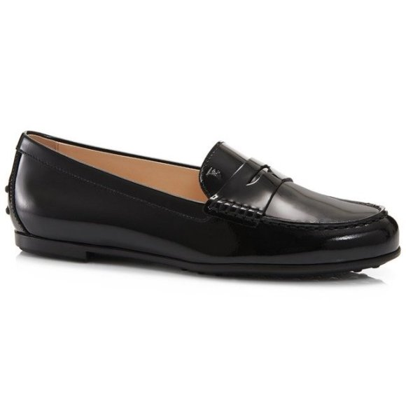 Tods.com leather loafers